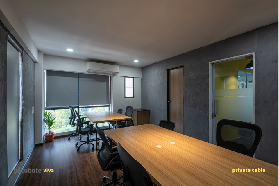 Viva-CoWorking-10 Seater Conference Room