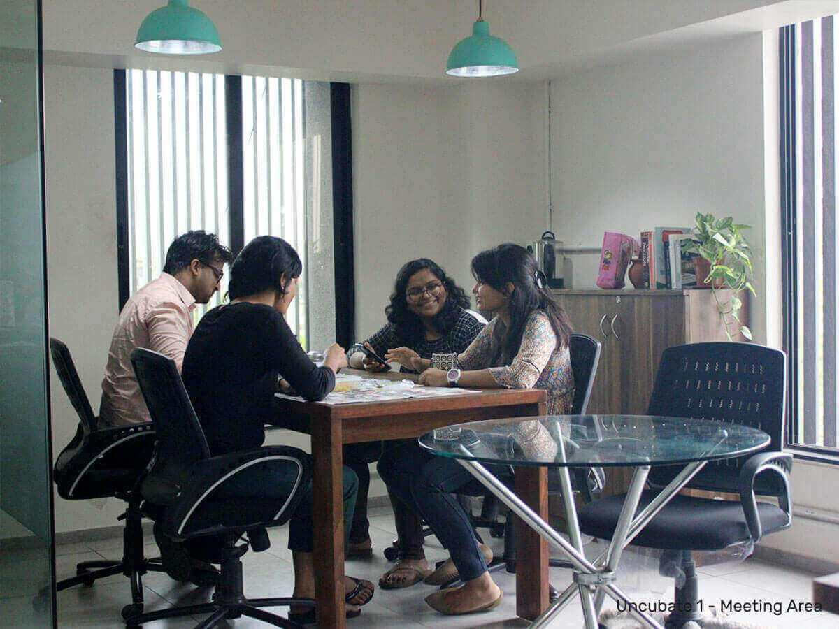 Meeting-area-Uncubate-1-coworking-space-ahmedabad